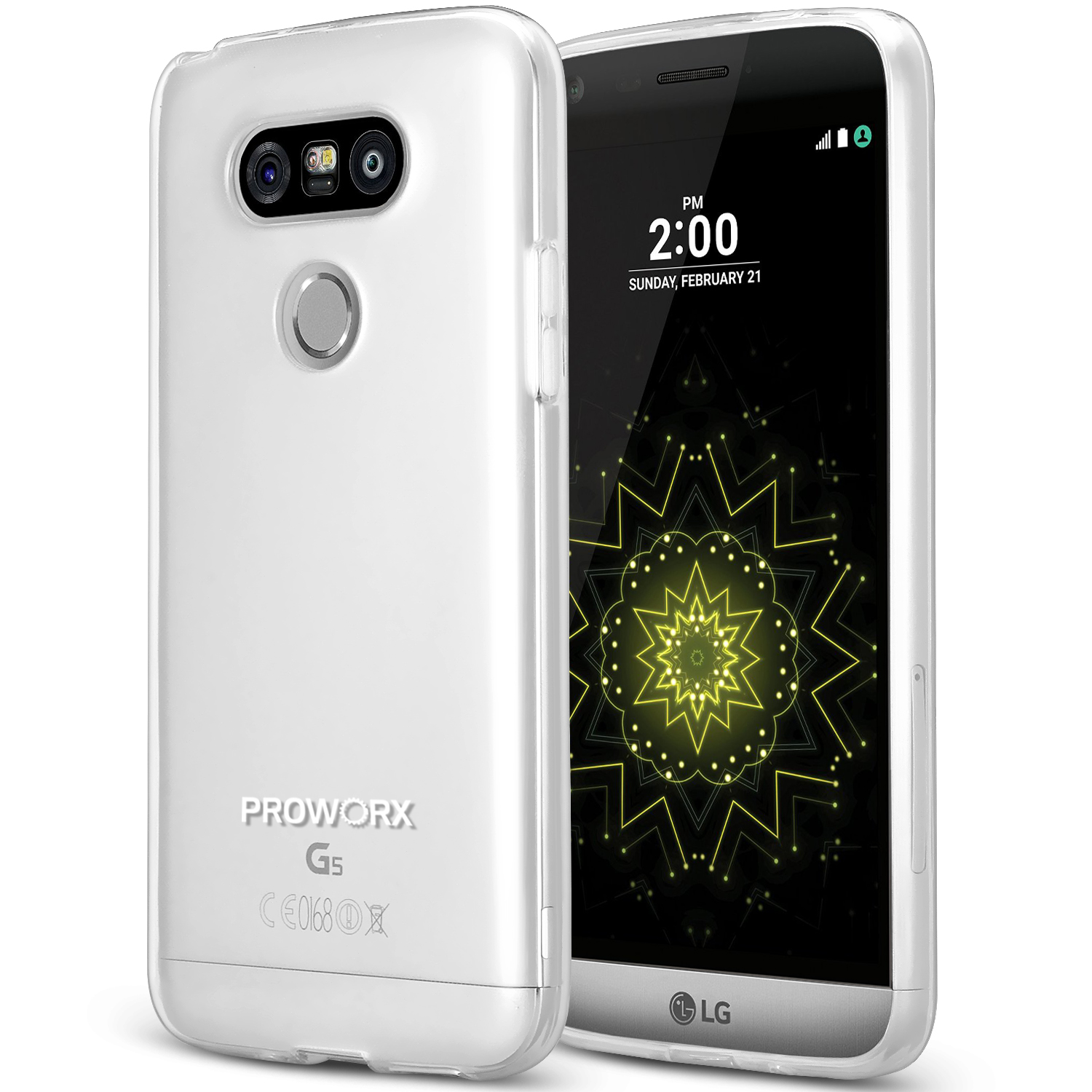 LG G5 Clear ProWorx Ultra Slim Thin Scratch Resistant TPU Silicone Case Cover