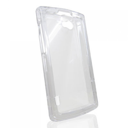 LG Optimus M+ MS695 Clear Crystal Transparent Hard Case Cover