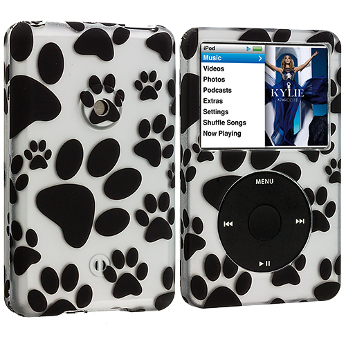 Apple iPod Classic Dog Paw Hard Rubberized Design Case Cover