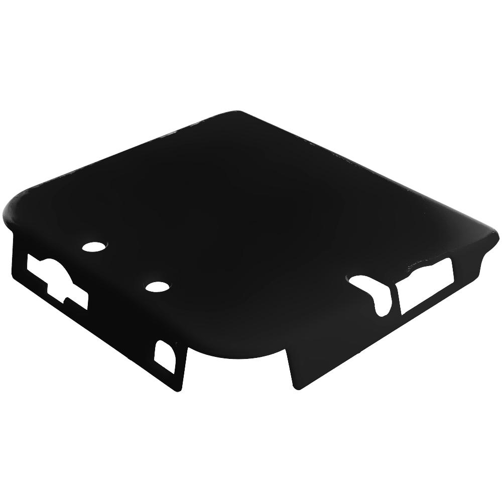 Nintendo 2DS Black Hard Rubberized Case Cover