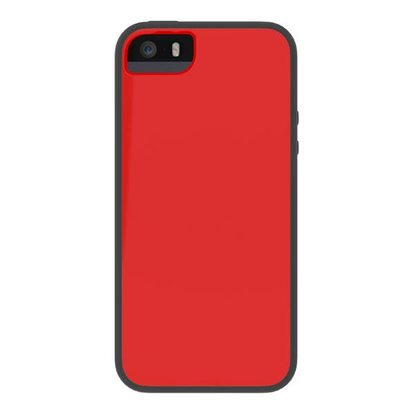 iPhone 5/5S/SE - Red/Black Skech Glow Case