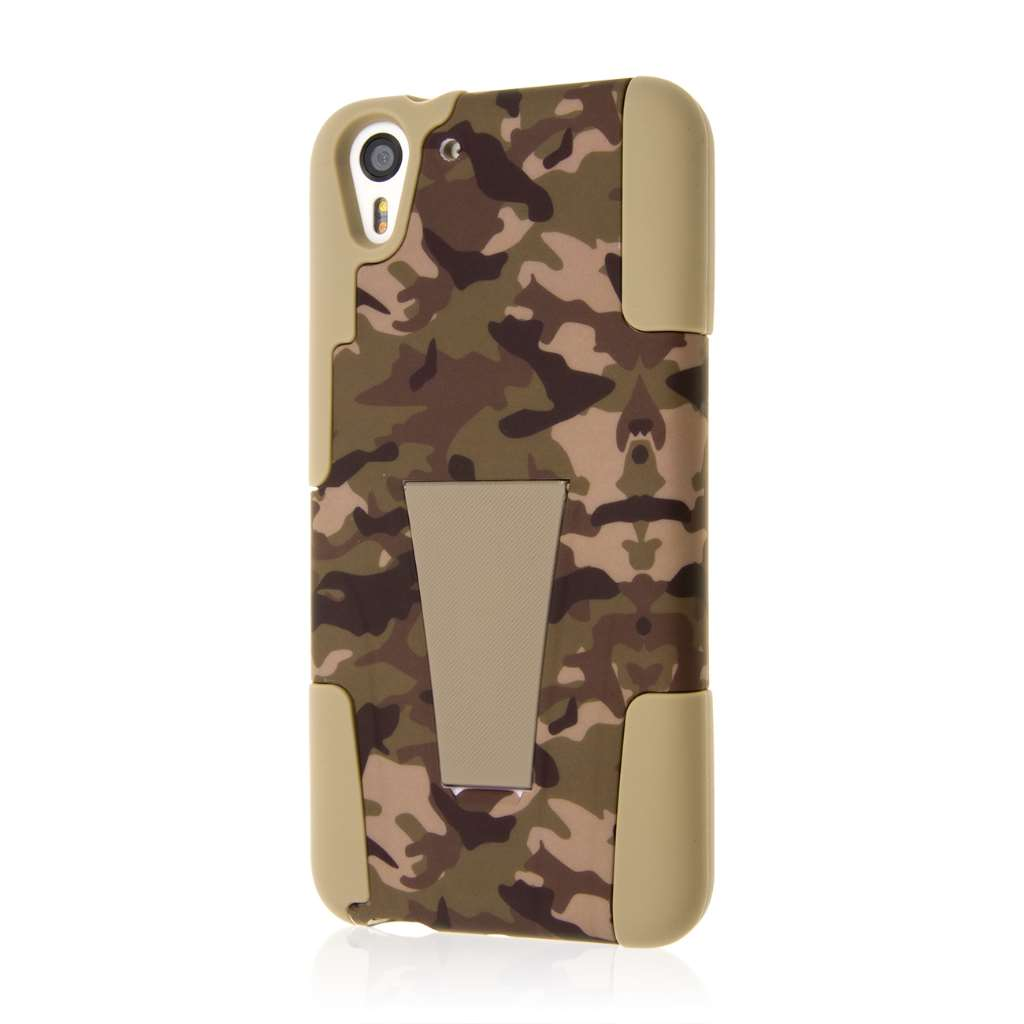HTC Desire EYE - Hunter Camo MPERO IMPACT X - Kickstand Case Cover
