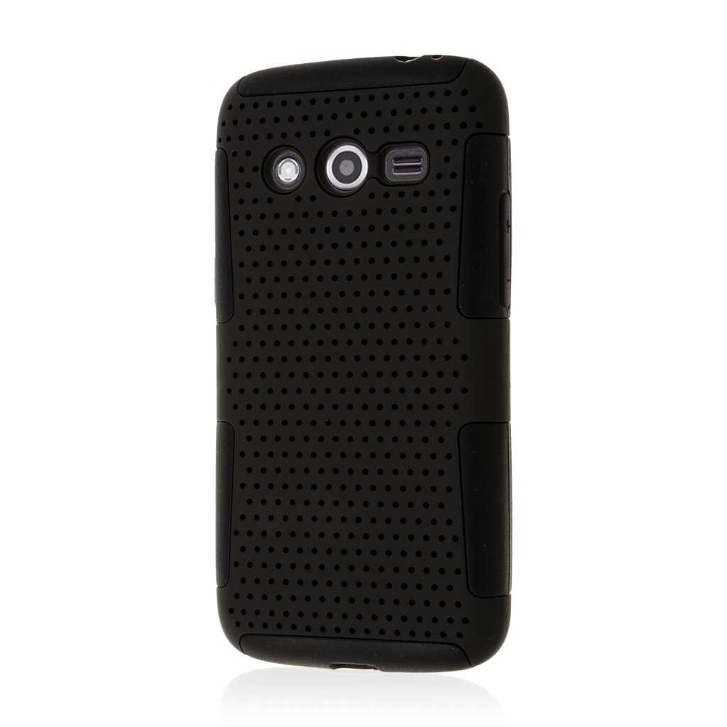 Samsung Galaxy Avant - Black MPERO FUSION M - Protective Case Cover