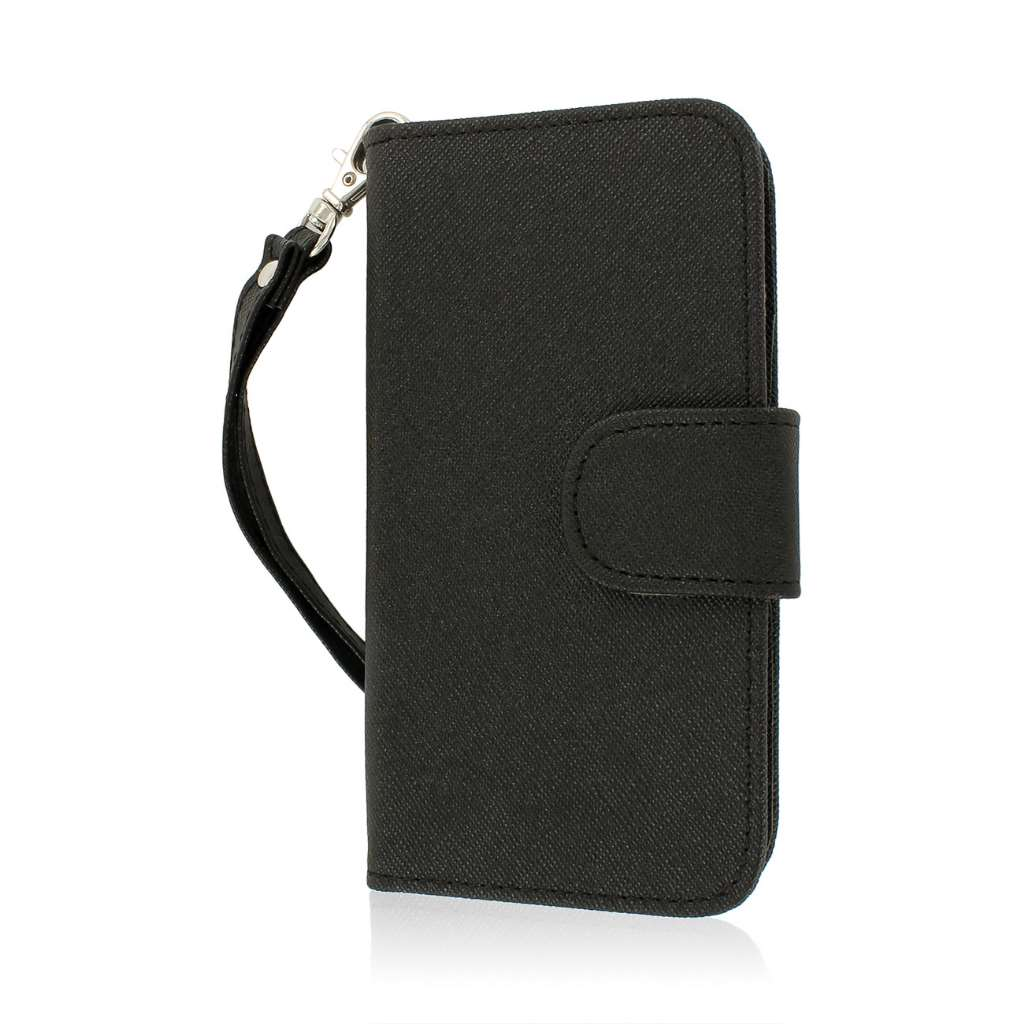 Huawei Vitria - Black MPERO FLEX FLIP Wallet Case Cover