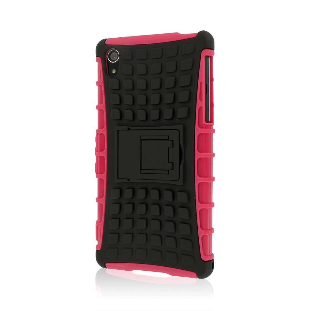 Sony Xperia Z2 - Hot Pink MPERO IMPACT SR - Kickstand Case Cover
