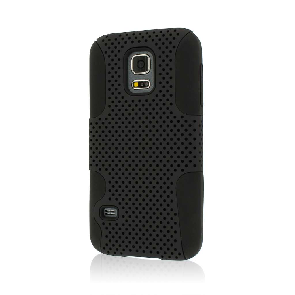 Samsung Galaxy S5 Mini - Black MPERO FUSION M - Protective Case Cover