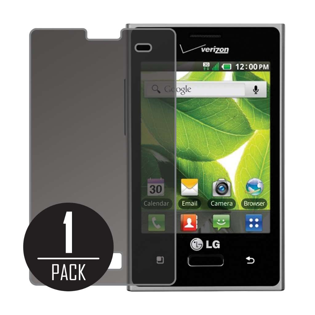 LG Optimus Zone MPERO Privacy Screen Protector
