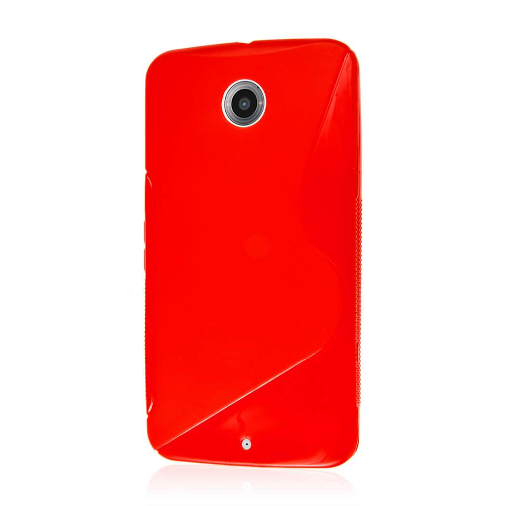 Google Nexus 6 - Red MPERO FLEX S - Protective Case Cover