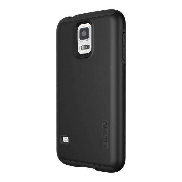Samsung Galaxy S5 - Black/Black Incipio DualPro Case Cover