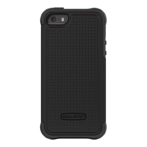 iPhone 5/5S/SE - Black/Black Ballistic Tough Jacket Case Cover