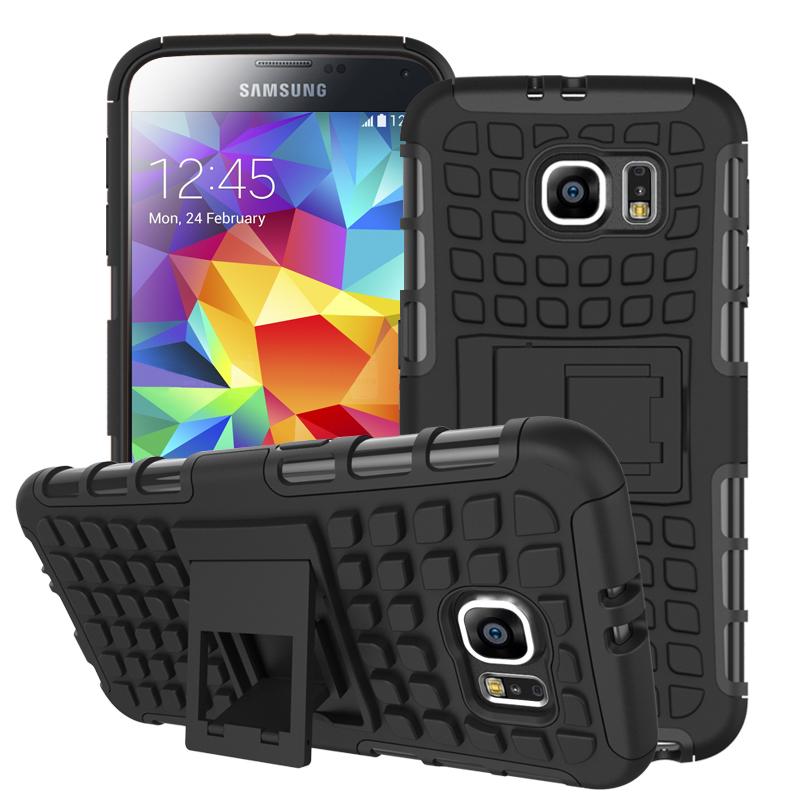 Samsung Galaxy S6 - Black MPERO IMPACT SR - Kickstand Case Cover