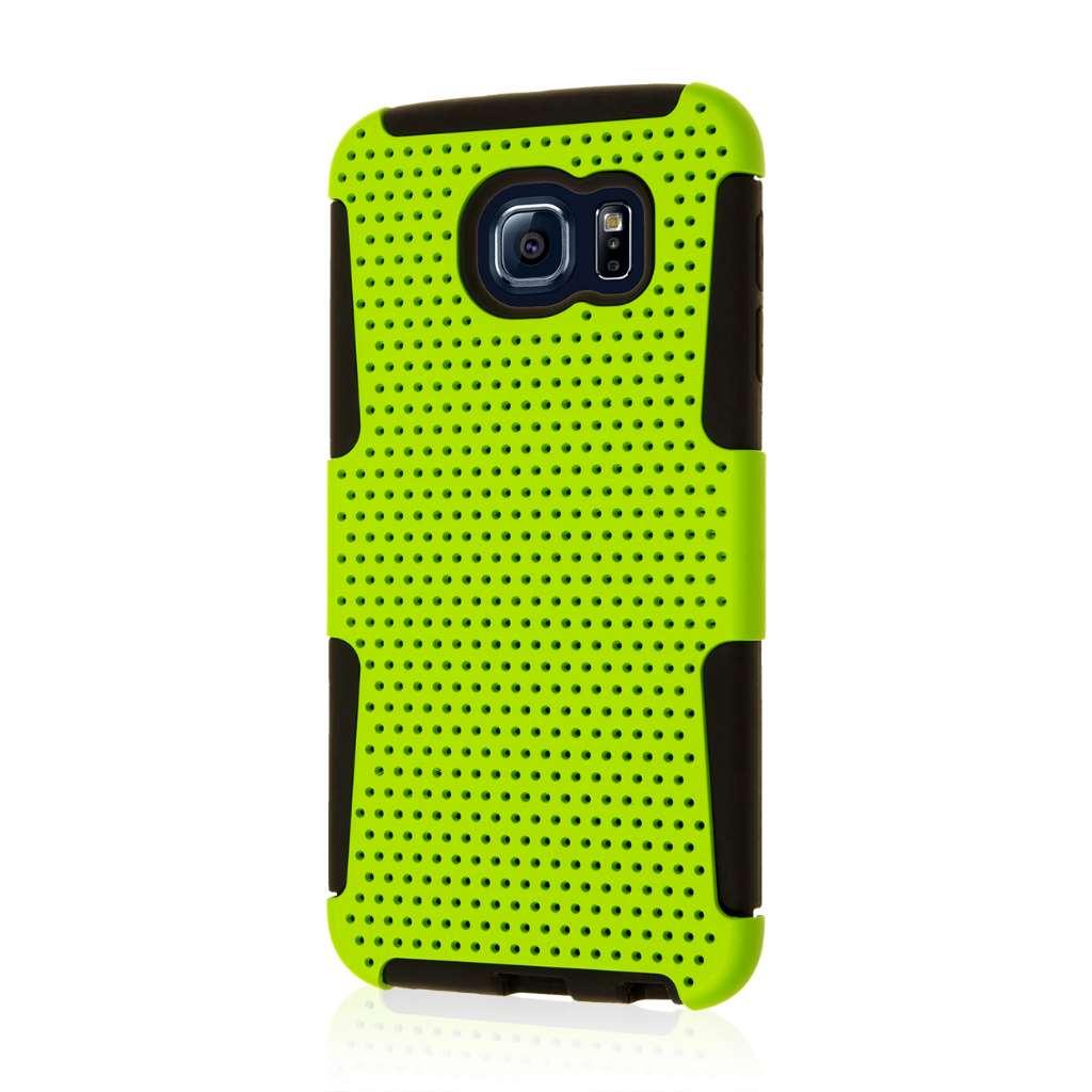 Samsung Galaxy S6 - Neon Green MPERO FUSION M - Protective Case Cover