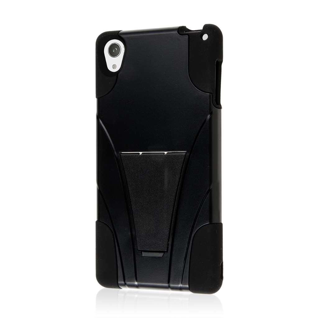 Sony Xperia Z3 - Black MPERO IMPACT X - Kickstand Case Cover