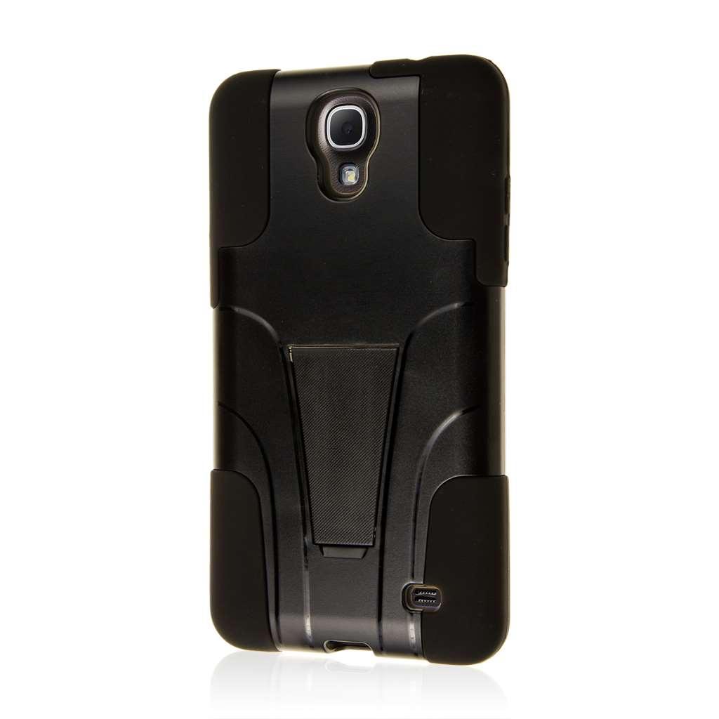 Samsung Galaxy Mega 2 - Black MPERO IMPACT X - Kickstand Case Cover