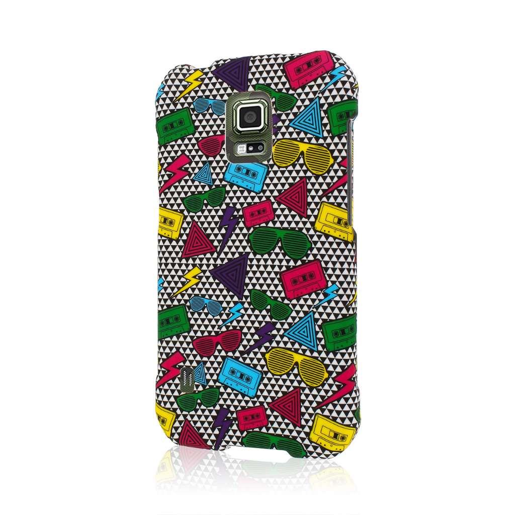 Samsung Galaxy S5 Active - Neon 90's MPERO SNAPZ - Case Cover