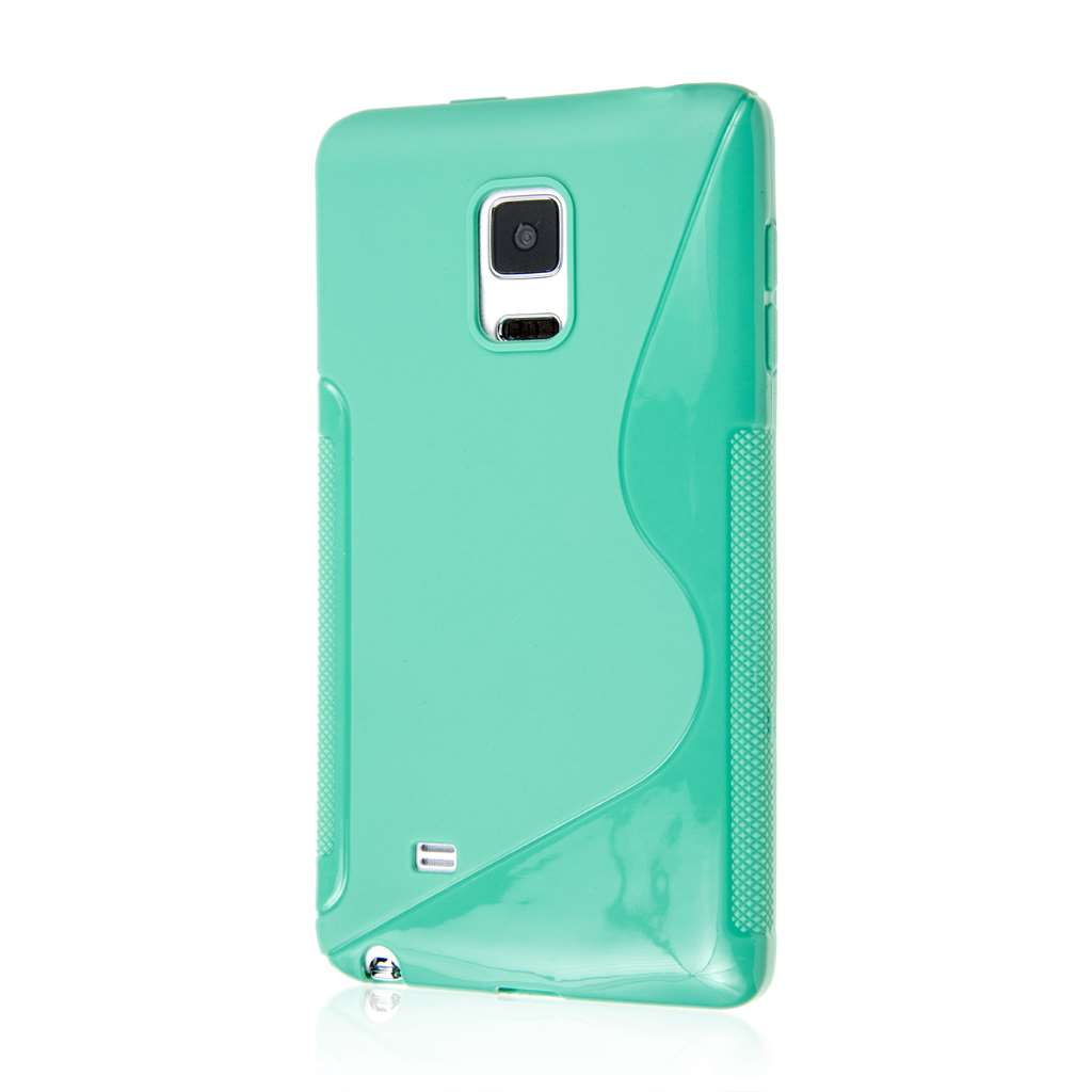 Samsung Galaxy Note Edge - Mint MPERO FLEX S - Protective Case Cover