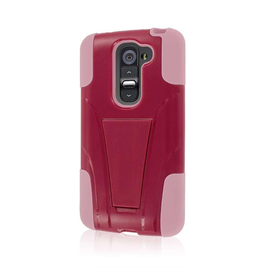 LG G2 Mini - Pink MPERO IMPACT X - Kickstand Case Cover