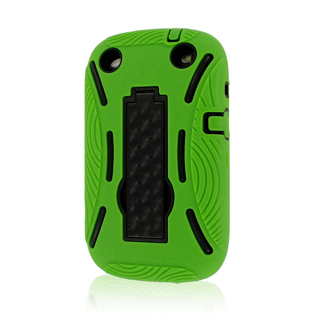 BlackBerry Curve 9310 9320 - Neon Green MPERO IMPACT XL - Kickstand Case