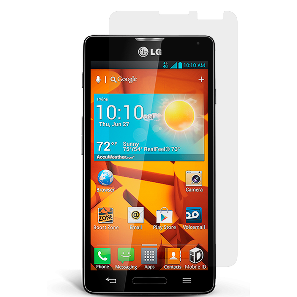LG Optimus F7 Clear LCD Screen Protector