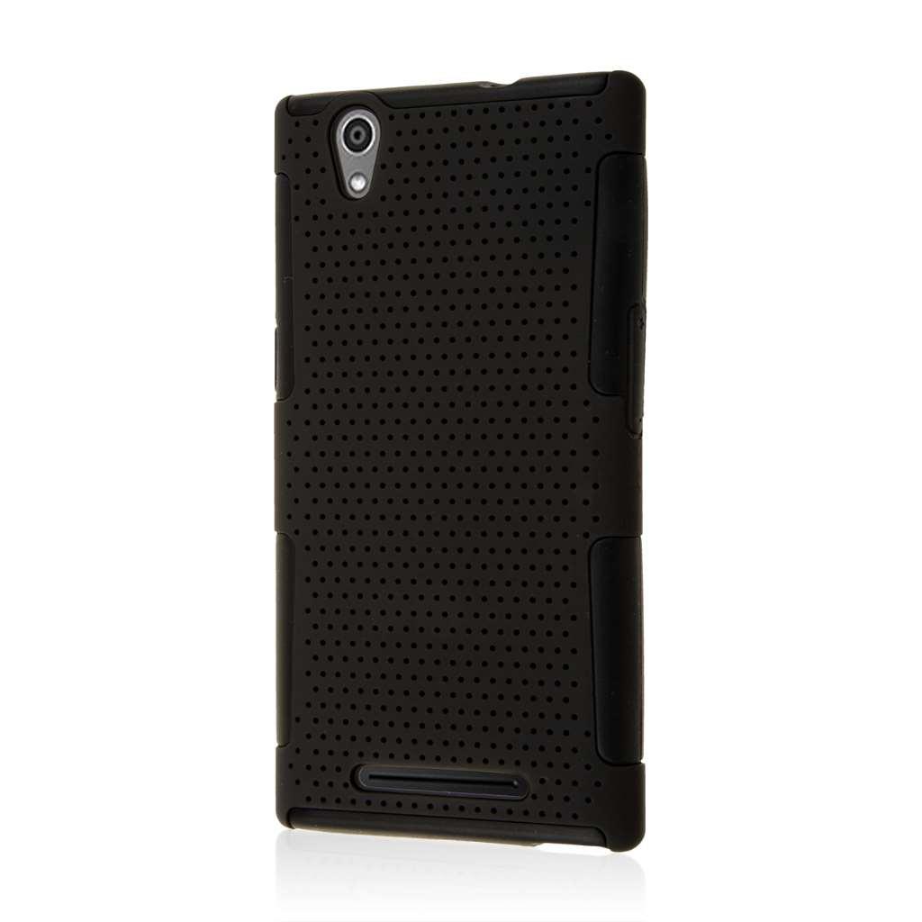 ZTE ZMAX - Black MPERO FUSION M - Protective Case Cover