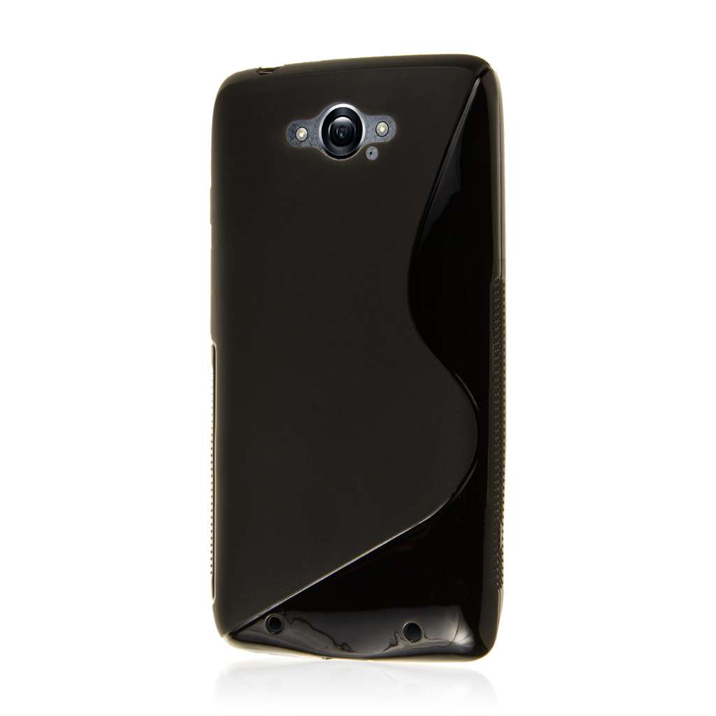 Motorola DROID TURBO - Black MPERO FLEX S - Protective Case Cover