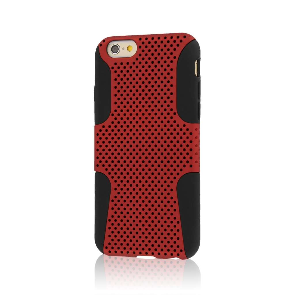 Apple iPhone 6/6S - Red MPERO FUSION M - Protective Case Cover