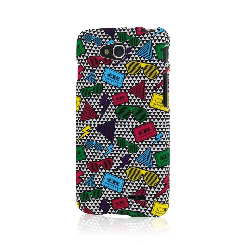 LG Optimus L90 - Neon 90s MPERO SNAPZ - Case Cover
