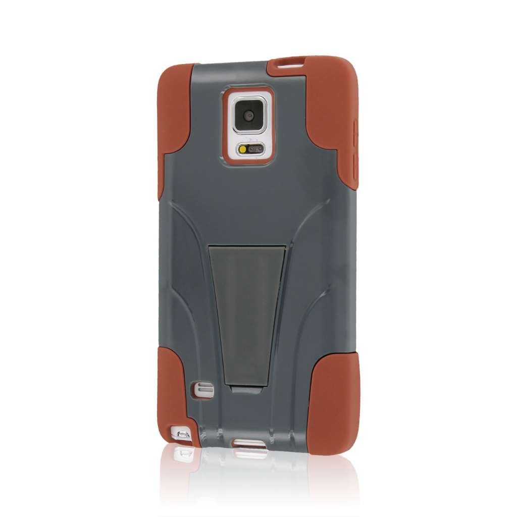 Samsung Galaxy Note 4 - Sandstone / Gray MPERO IMPACT X - Kickstand Case