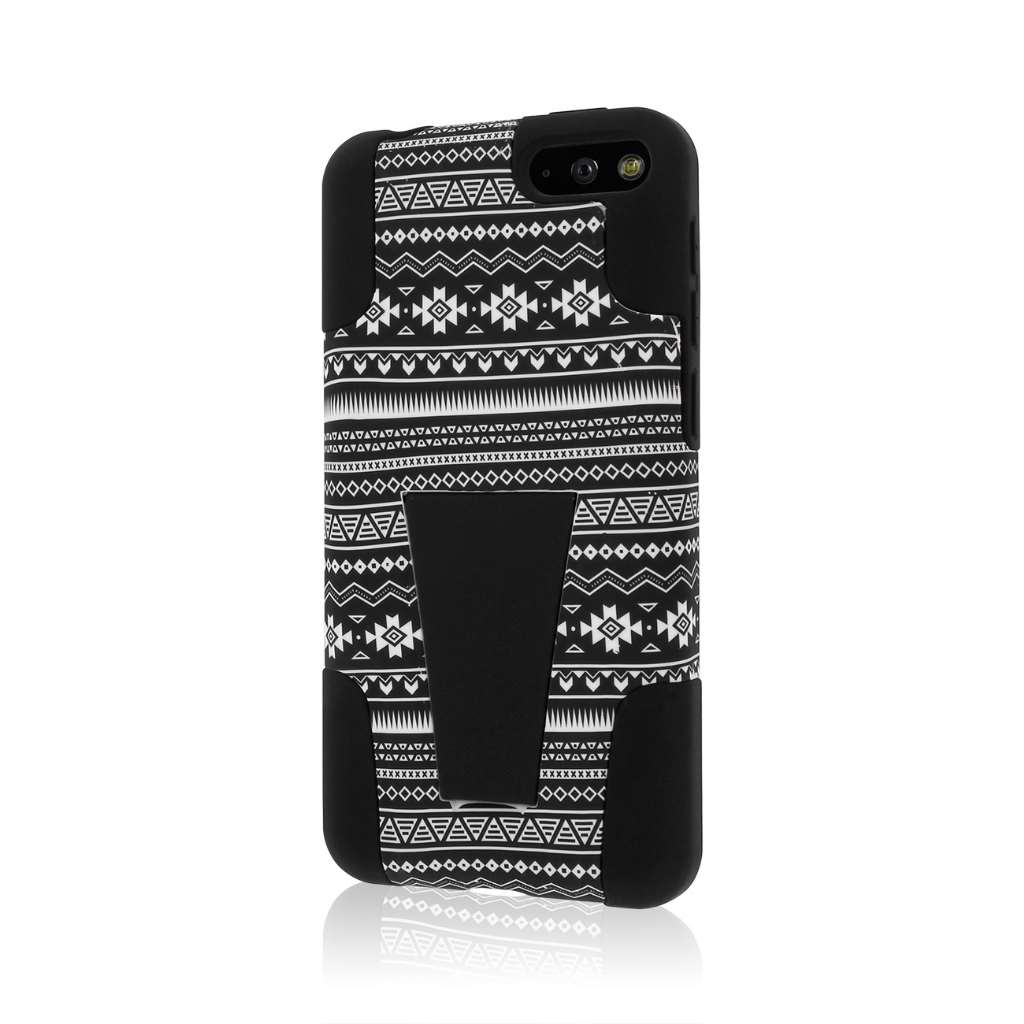 Amazon Fire Phone - Black Aztec MPERO IMPACT X - Kickstand Case Cover
