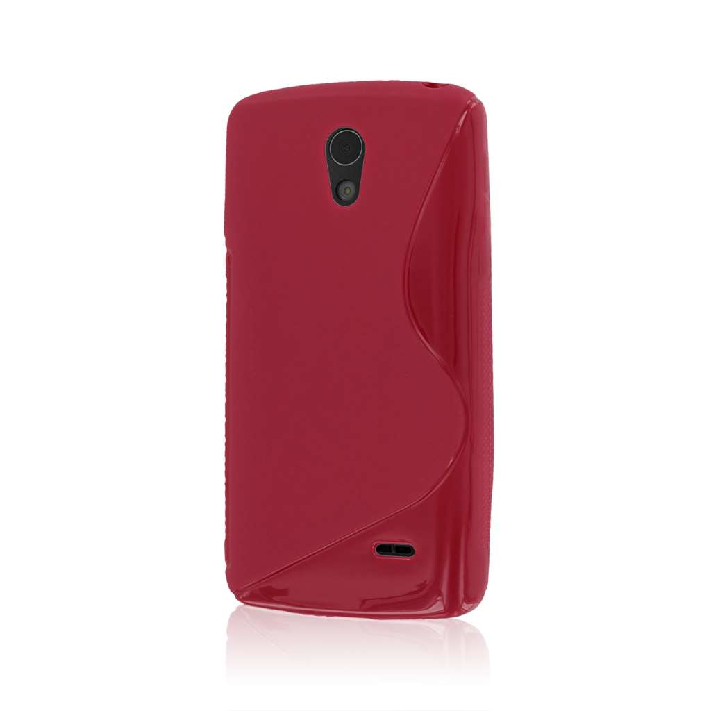 LG Lucid 3 - Hot Pink MPERO FLEX S - Protective Case Cover