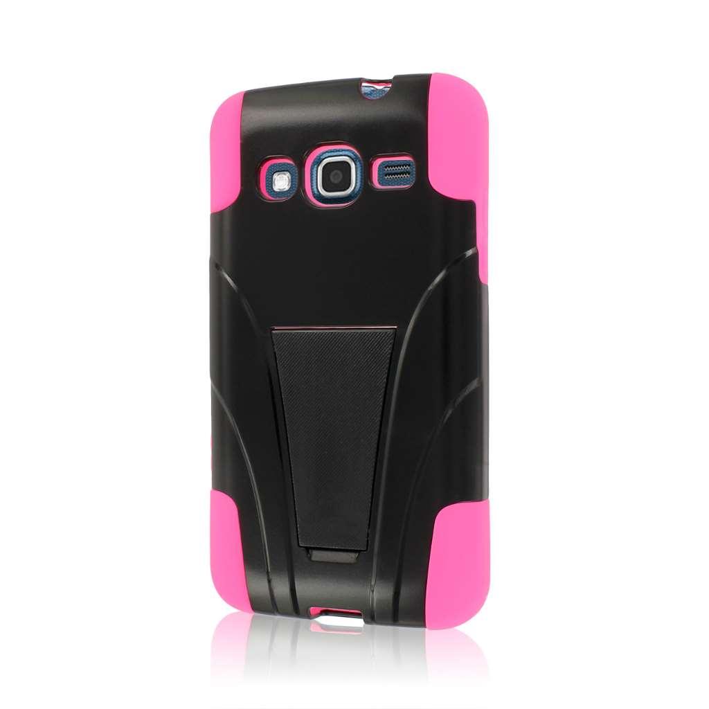 Samsung ATIV S Neo I800 I8675 - Hot Pink MPERO IMPACT X - Kickstand Case