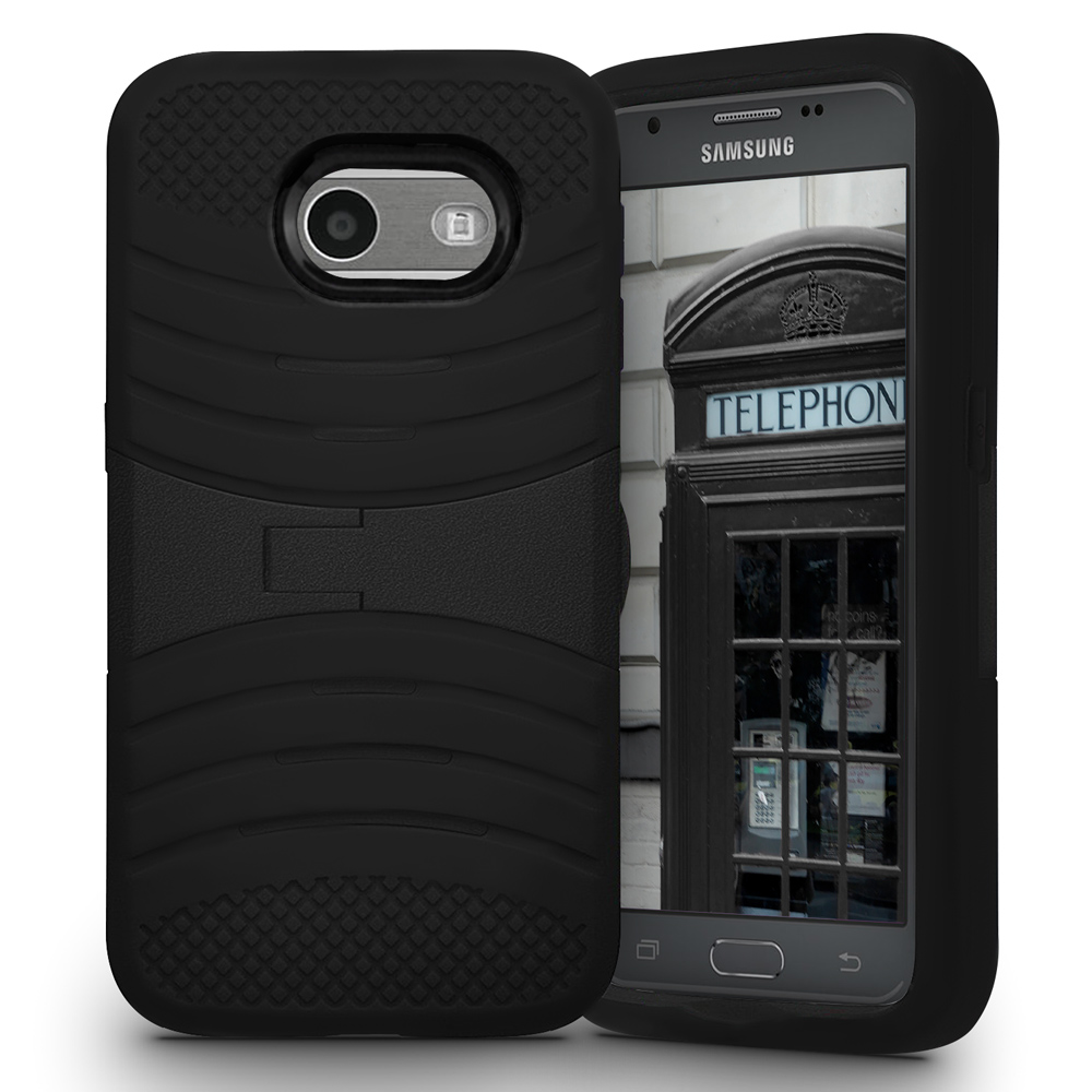 for samsung galaxy j7 j727 2017 heavy duty case silicone hard phone cover ebay. Black Bedroom Furniture Sets. Home Design Ideas