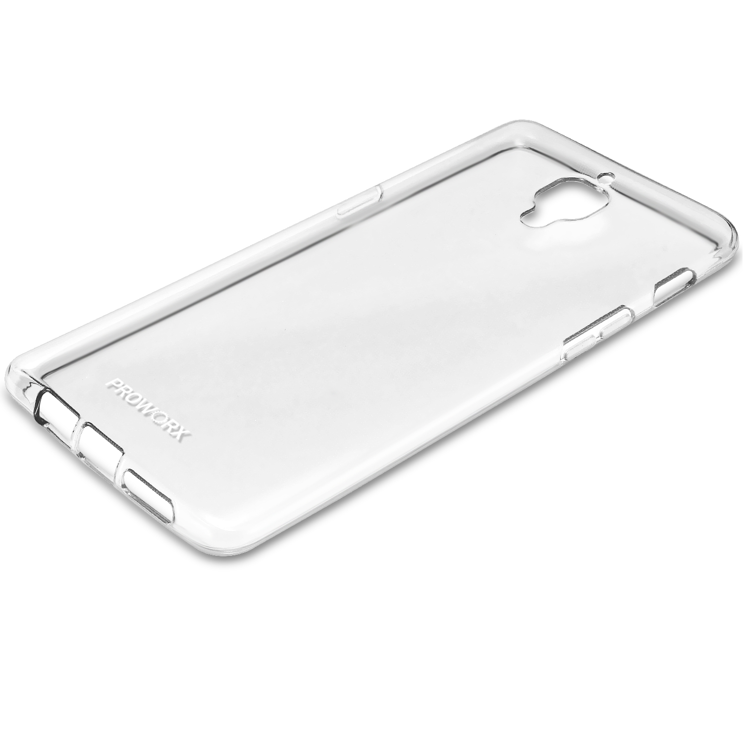 Oneplus Three 3 Clear ProWorx Ultra Thin Slim-Grip Scratch Resistant TPU Silicone Case Cover