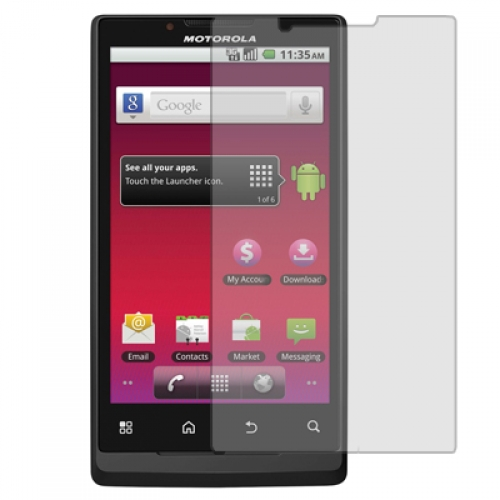 Motorola Triumph 4G Clear LCD Screen Protector