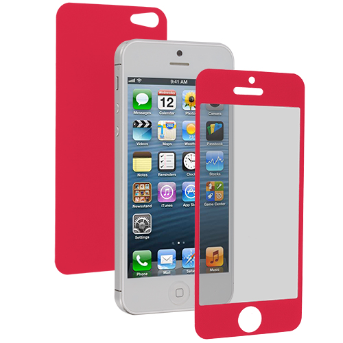 Apple iPhone 5 / 5S Pink LCD Screen Protector