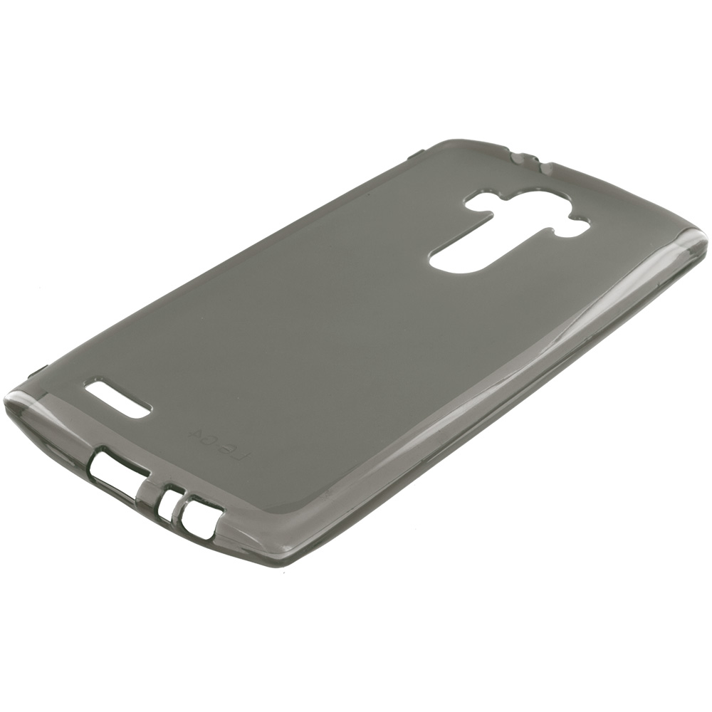 LG G4 Smoke TPU Rubber Skin Case Cover