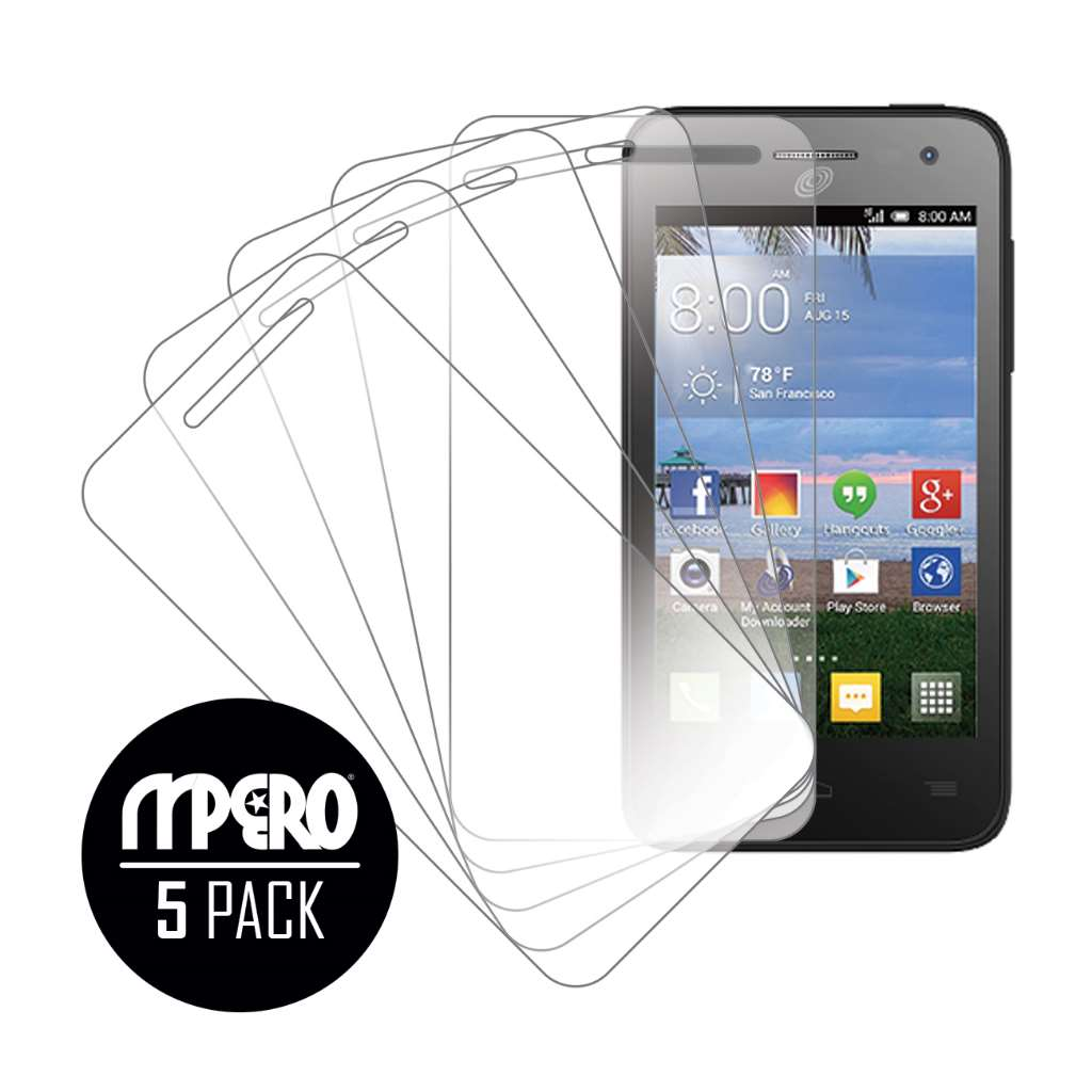 Alcatel OneTouch POP Star LTE MPERO 5 Pack of Ultra Clear Screen Protectors