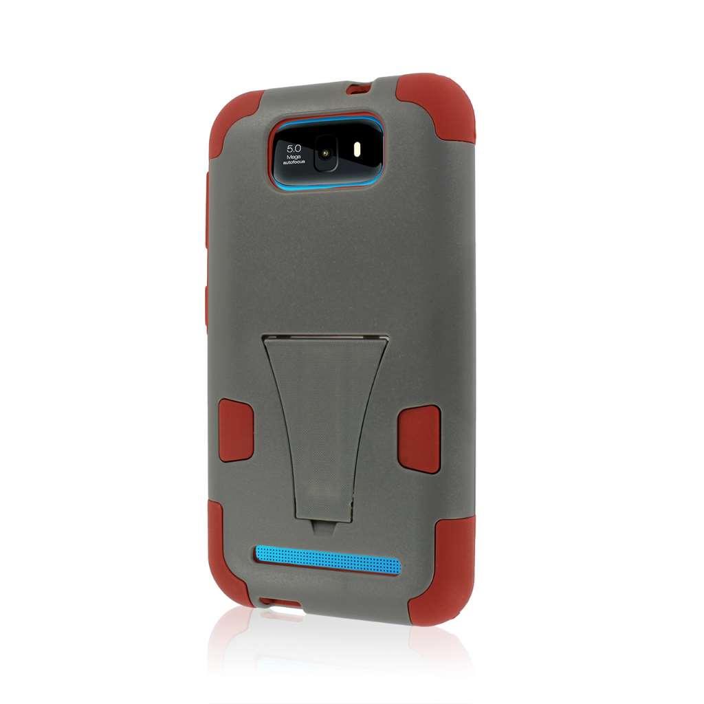 BLU Studio 5.5 - Sandstone / Gray MPERO IMPACT X - Kickstand Case Cover