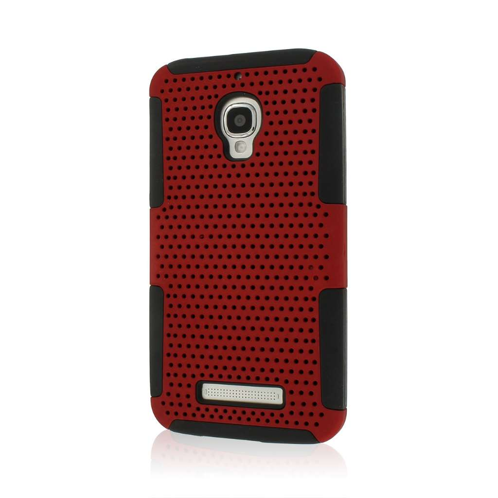 Alcatel OneTouch Fierce - Red MPERO FUSION M - Protective Case Cover