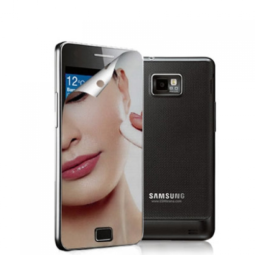 Samsung Galaxy S2 i9100 Mirror LCD Screen Protector
