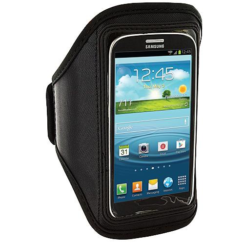 Samsung Galaxy S3 Black Running Sports Gym Armband