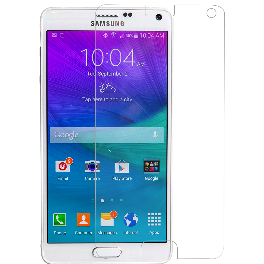 Samsung Galaxy Note 4 Clear LCD Screen Protector