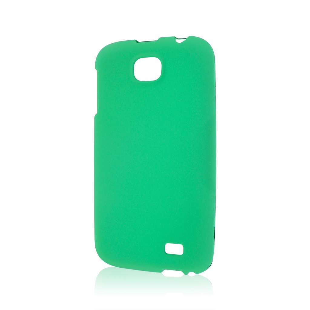 BLU Studio 5.3 II - Mint Green MPERO SNAPZ - Rubberized Case Cover