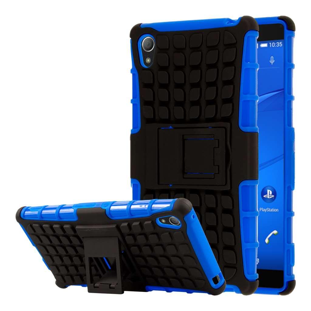 Samsung Galaxy S6 Edge - Blue MPERO FLEX FLIP Wallet Case Cover