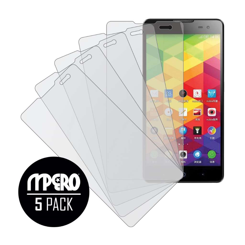 ZTE V5 Max MPERO 5 Pack of Matte Screen Protectors