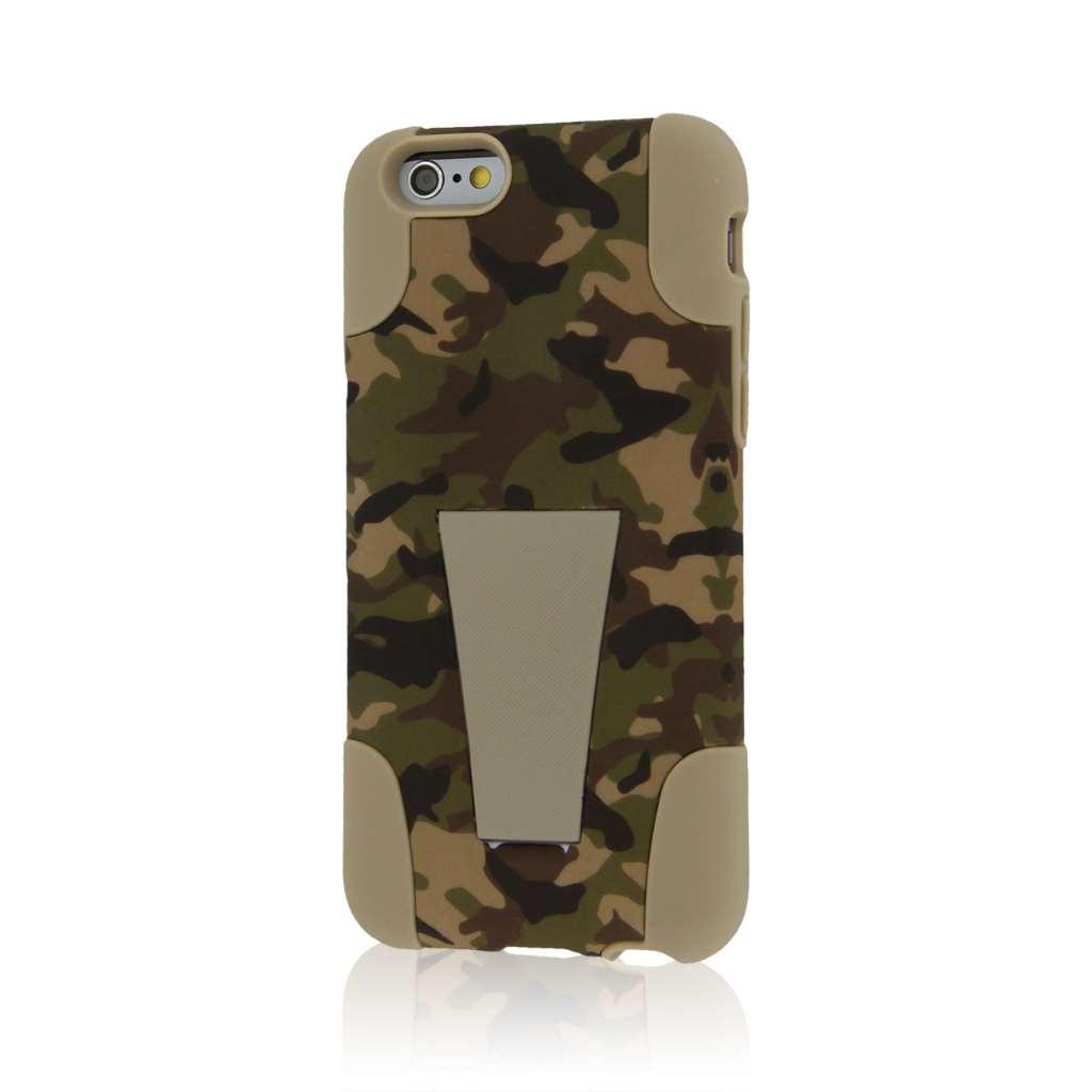 Apple iPhone 6/6S - Hunter Camo MPERO IMPACT X - Kickstand Case Cover