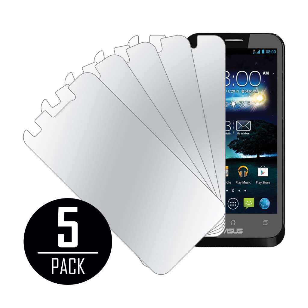 ASUS PadFone X MPERO 5 Pack of Mirror Screen Protectors