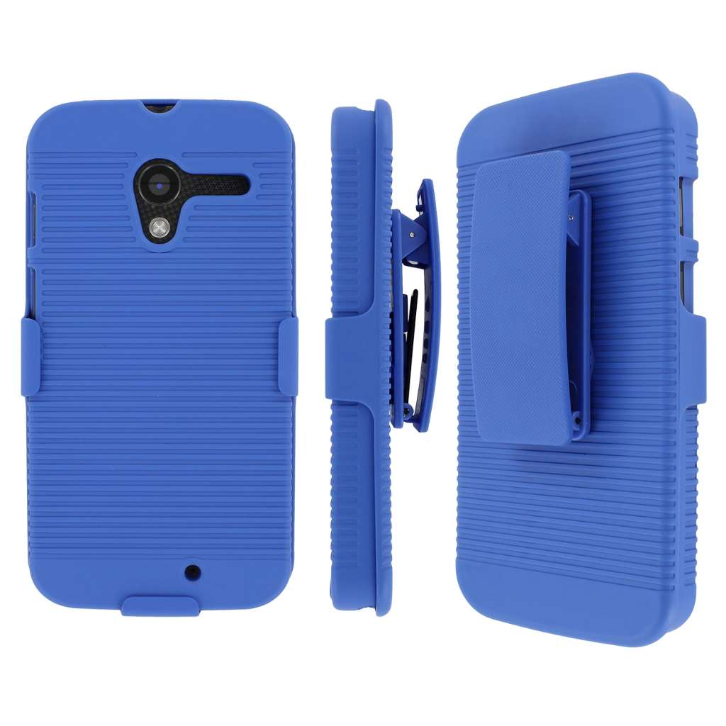 Motorola Moto X MPERO 3 in 1 Tough Kickstand Case Cover