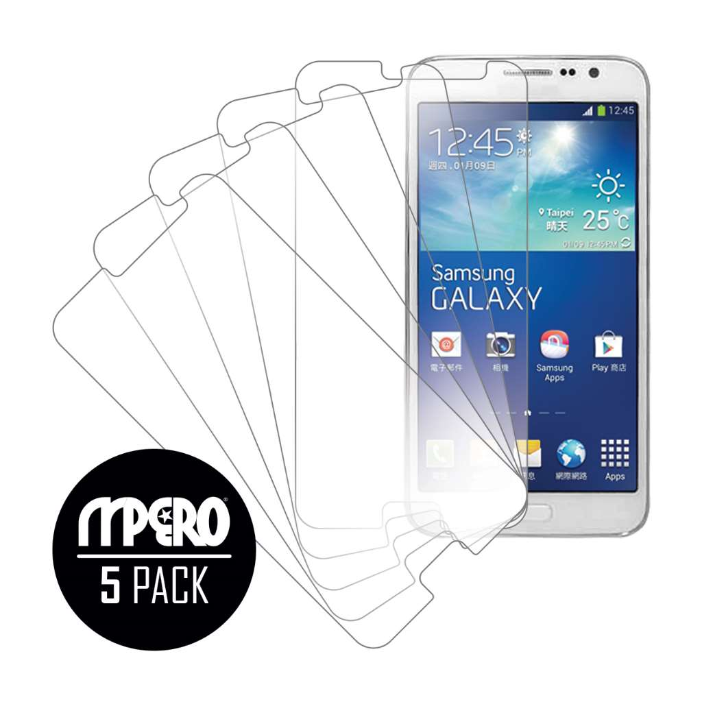 Samsung Galaxy Grand 3 MPERO 5 Pack of Ultra Clear Screen Protectors
