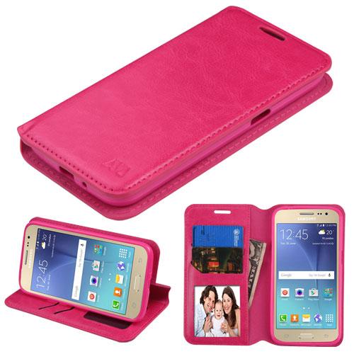 ... J2 J210 Hot Pink MyJacket Wallet Flip Case Cover :: CellPhoneCases.com